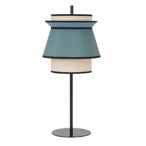 Lantern  Table Lamp - Orange or Blue